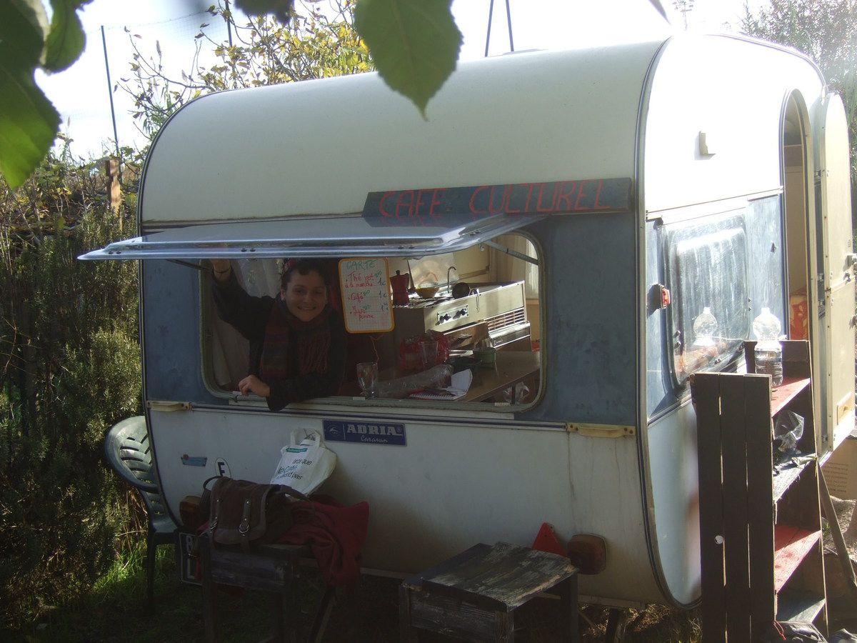 Le café-caravane !
