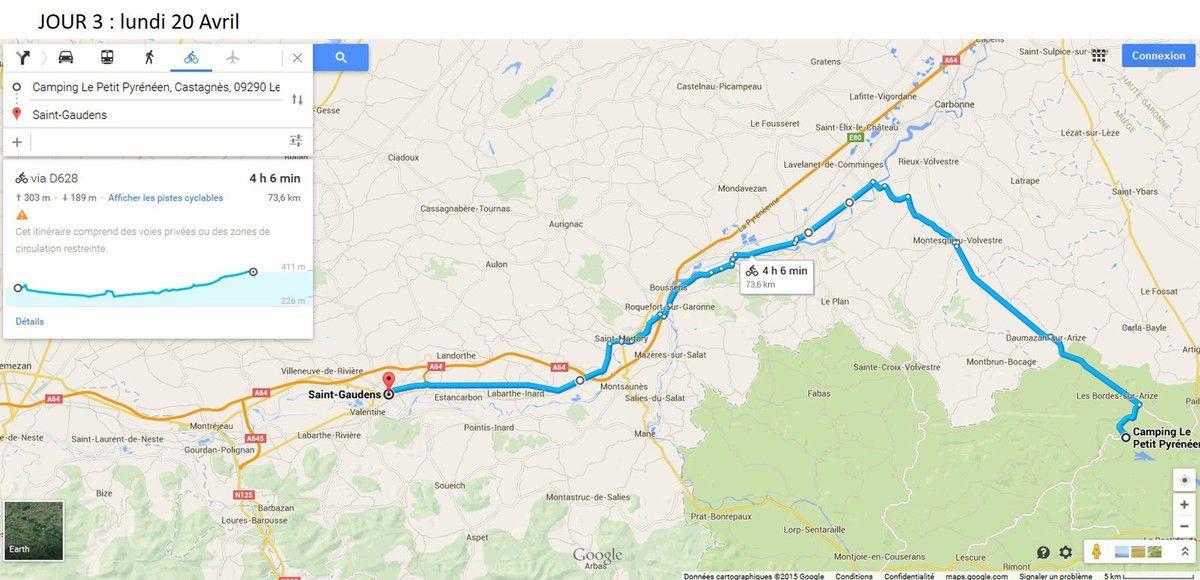 5 - 2ème Parcours 2015 - 5 jours - Aude, Ariège