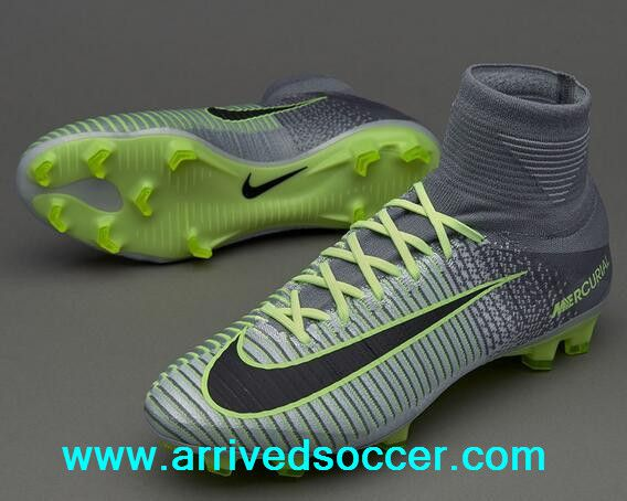 8e44f470a NIke Mercurial Superfly V FG Pure Platinum   Ghost Green Fly Line Soccer  Boots