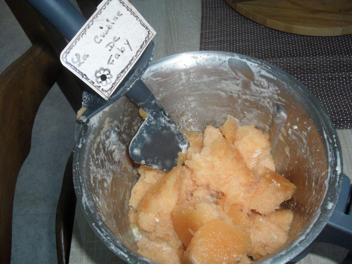 Glace onctueuse au melon - Glace au melon avec sorbetiere ...