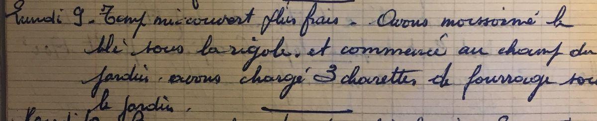 Lundi 9 juillet 1956