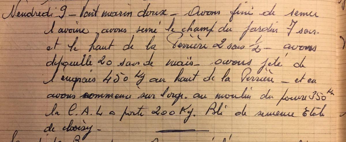 Vendredi 9 novembre 1956 - Livraison de l'Etoile de Choisy