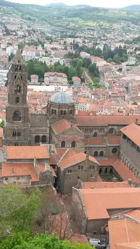 Le Puy en Velay city