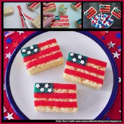 Snap, Crackle, And Flag Pops