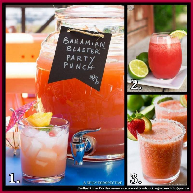 3 Delicious Party Drinks
