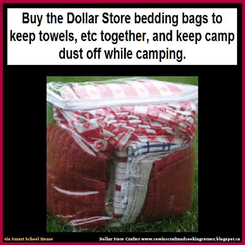 Keep Your Clothes Towels And Bedding Organized And Dirt Free While Camping