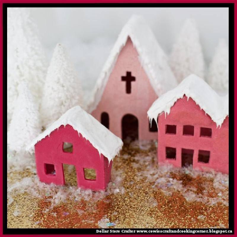 Salt Dough Cookie Village