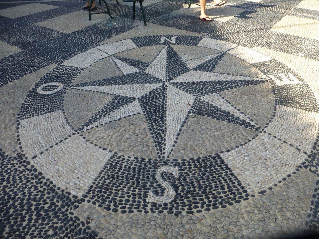 De l'art au sol