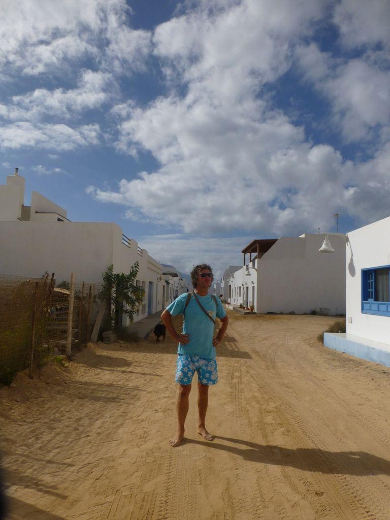 La Playa Francesca, notre mouillage sur l'île de Graciosa