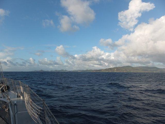 Arrivée sur Antigua
