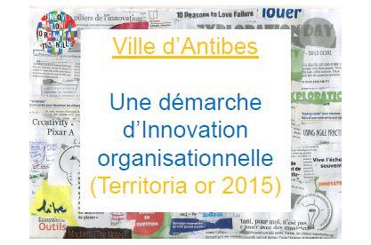 La mise en oeuvre d'un écosystème de l'innovation organisationnelle pour faire évoluer les modes de fonctionnement