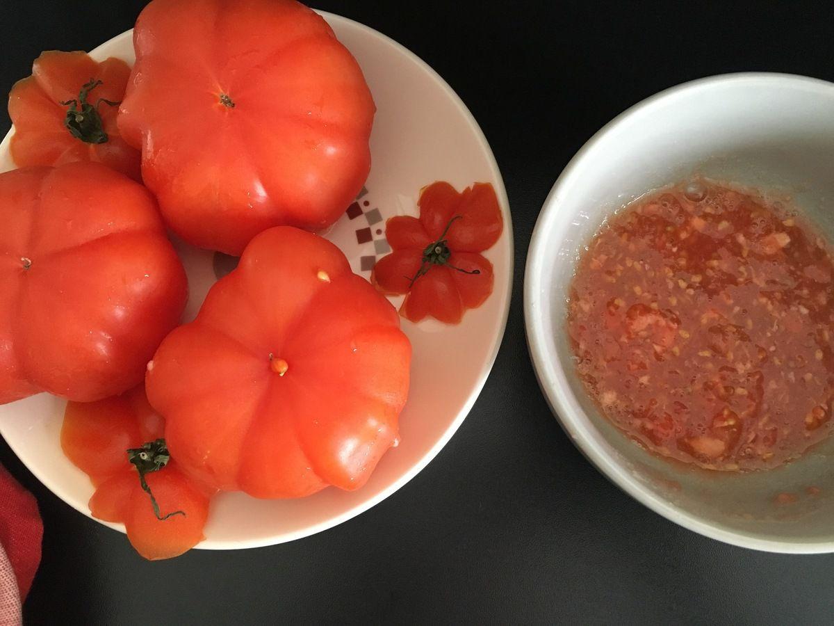 Tomates farcies façon mamie