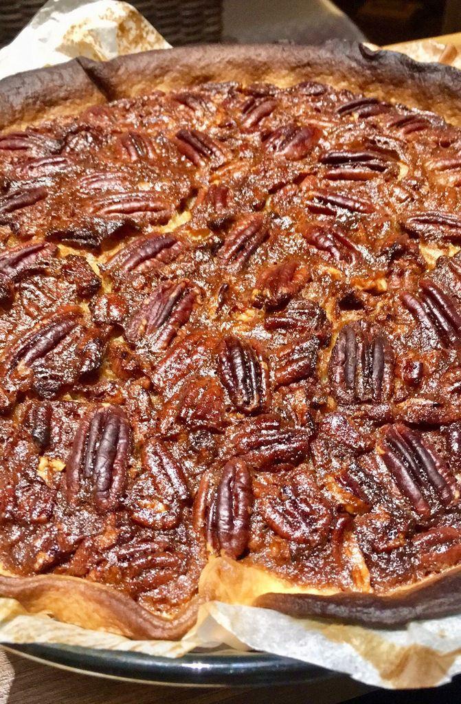 Tarte aux noix de Pécan ou Pecan Pie