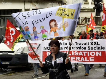 Quelques news du 12 sept . ATSEMs de France dans la rue