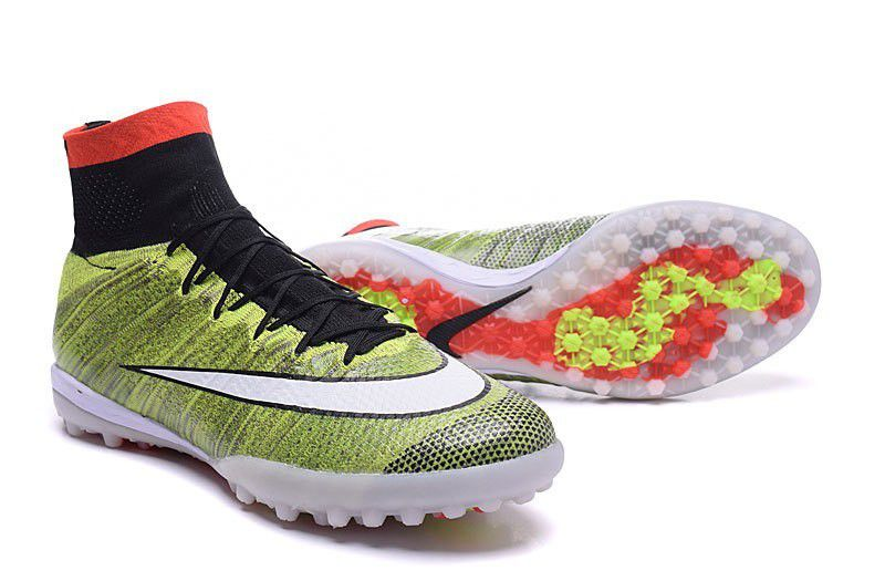 nike mercurialx proximo tf green red black football boots ...