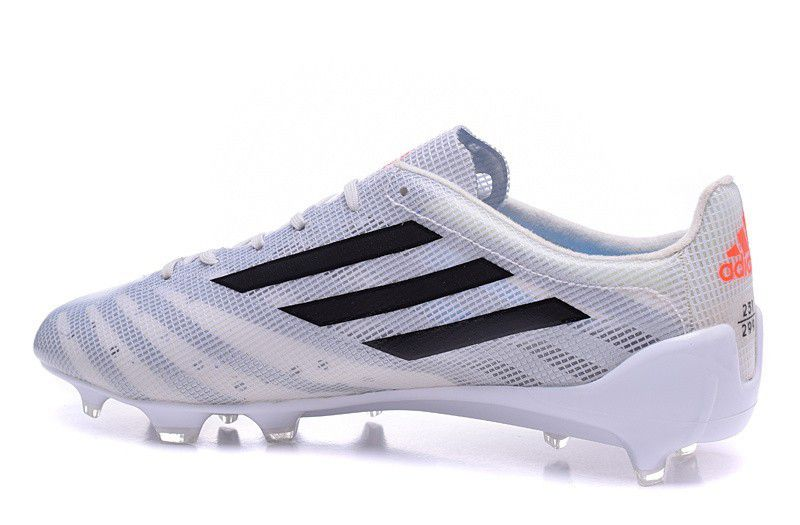 sports shoes 85346 97957 adidas F50 99 White/Black/Solar Red Football Boots ...