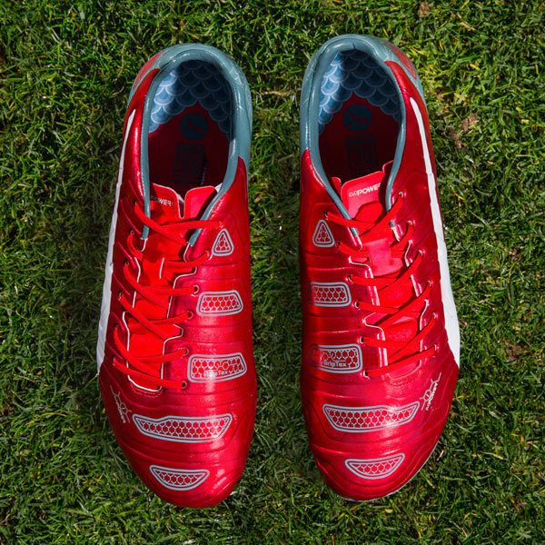 d7e3b8385665 PUMA make another bold statement with their latest evoPOWER 1.2 release,  which arrives with a blazing red and Japanese flavoured makeover in time  for the ...