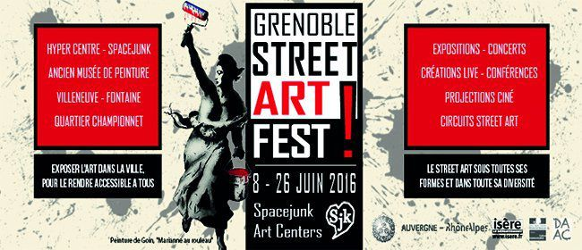 Grenoble Street Art Fest ! 2016