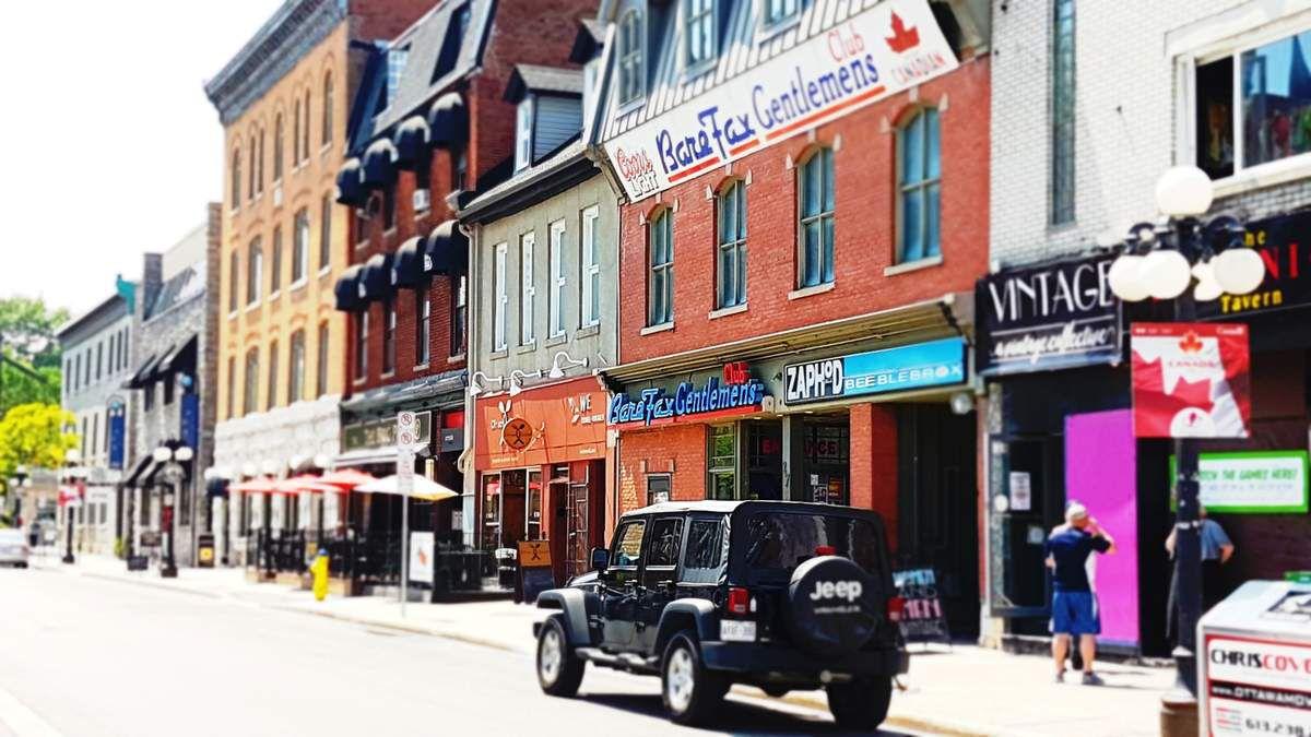 Petite pause de village dans la capitale canadienne