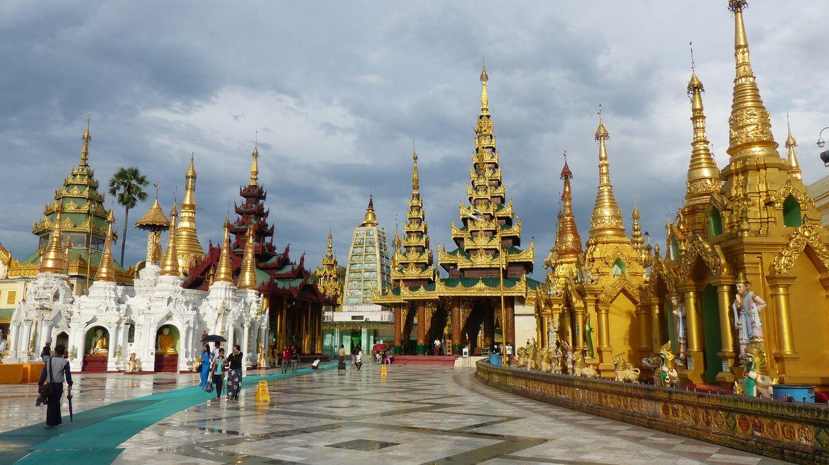 La merveilleuse paya Swedagon