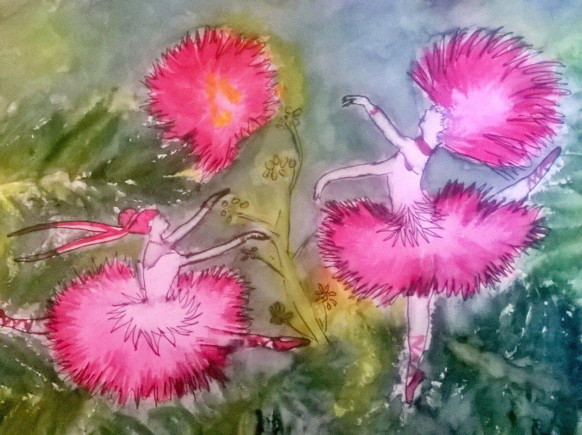 """Résultat de recherche d'images pour """"albizia en peinture"""""""