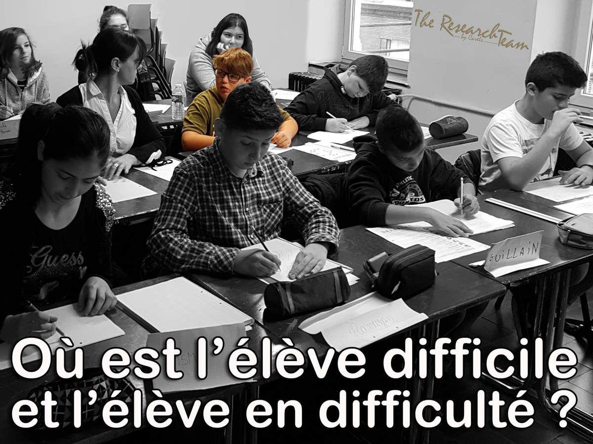 Châtelineau, Belgique : Classe de l'École Autrement