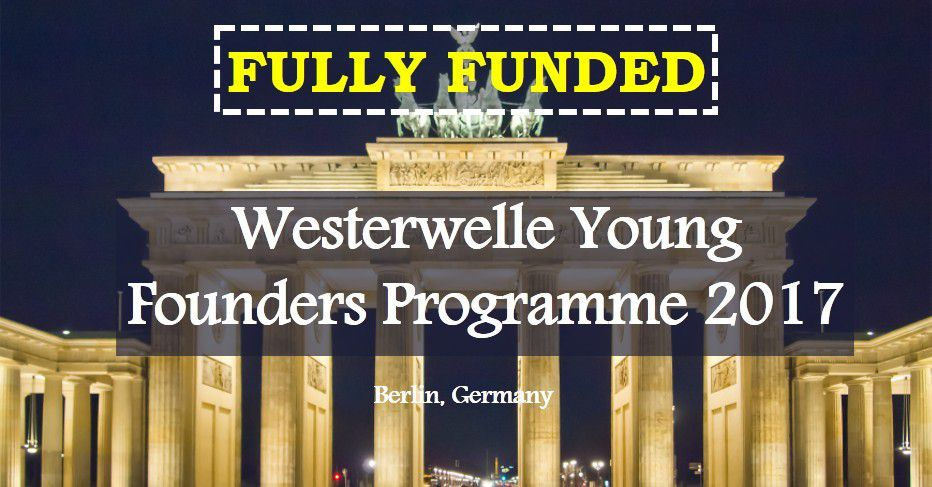 Westerwelle Young Founders Programme 2017