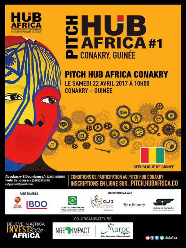 CONCOURS PITCH HUB AFRICA CONAKRY