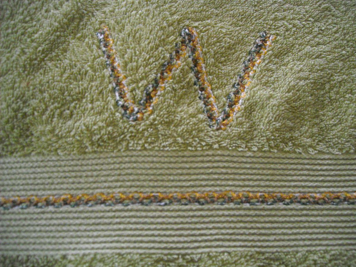 Des initiales en pagaille