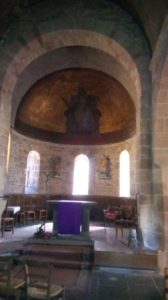 L'intérieur de cette église date du XVème siècle.
