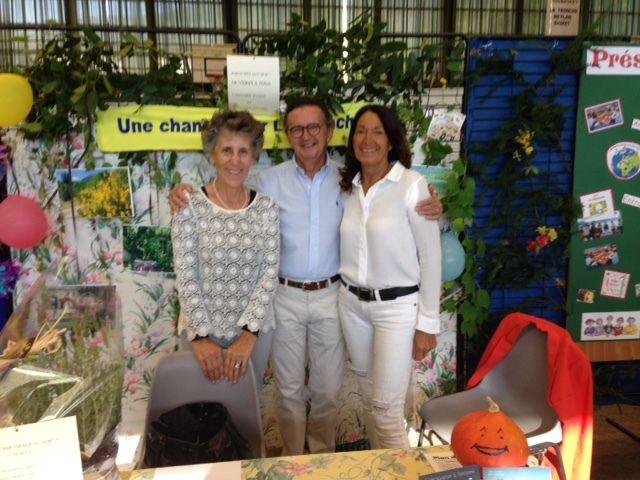 """La Tronche, """"Une chance pour La Tronche"""" au Forum des associations 2016,"""