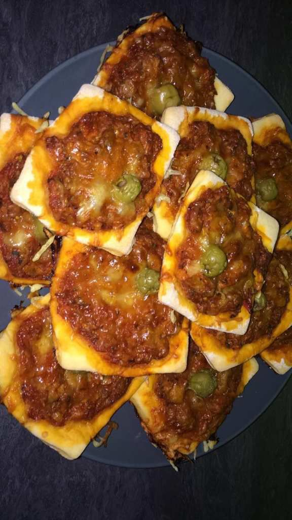 Mini-pizzas au thon