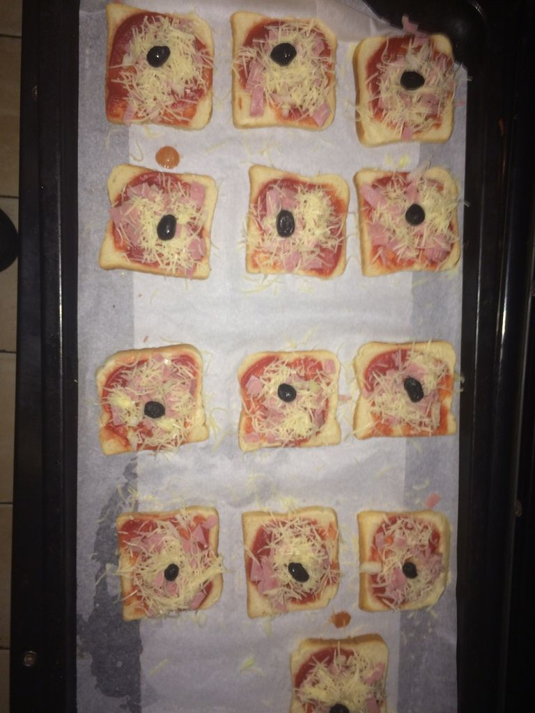 Pizza pain de mie