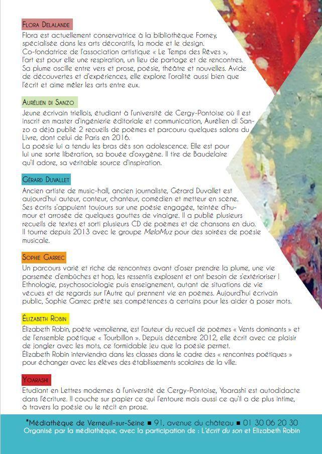 Programme des animations à Verneuil-sur-Seine