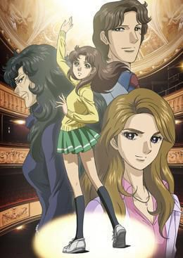 LAURA OU LA PASSION DU THÉÂTRE / GLASS NO KAMEN, L'ANIME !