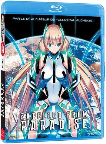 EXPELLED FROM PARADISE, LE FILM EN BR CHEZ @ ALL THE ANIME