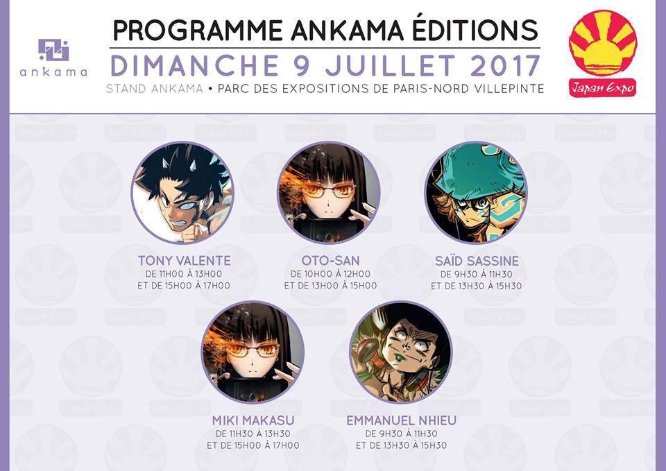 JAPAN EXPO: J-5 ANKAMA EDITIONS