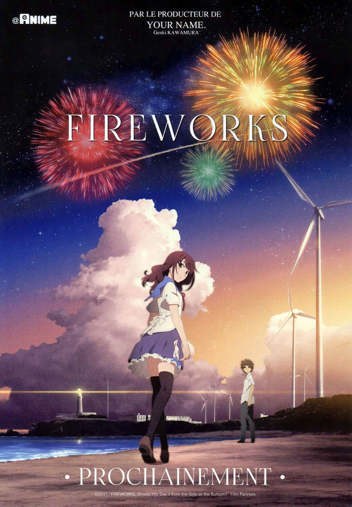 LE FILM FIREWORKS ANNONCÉ PAR @ ALL THE ANIME ET  EUROZOOM