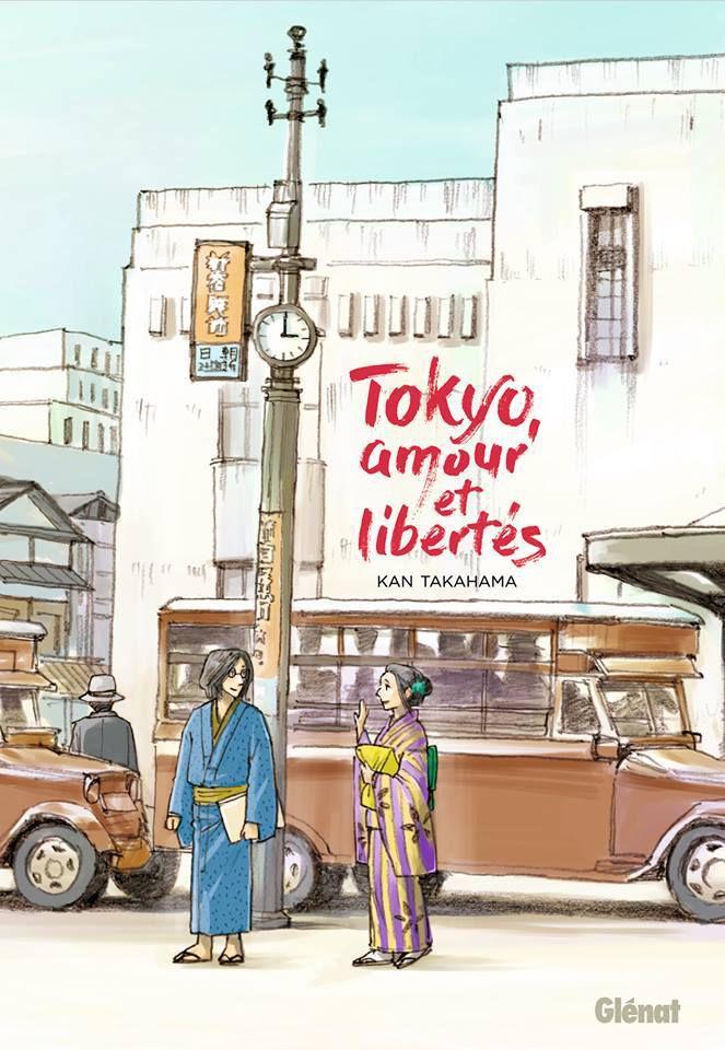 Voyage dans la capitale nippone, voyage dans le temps à paraître chez Glénat