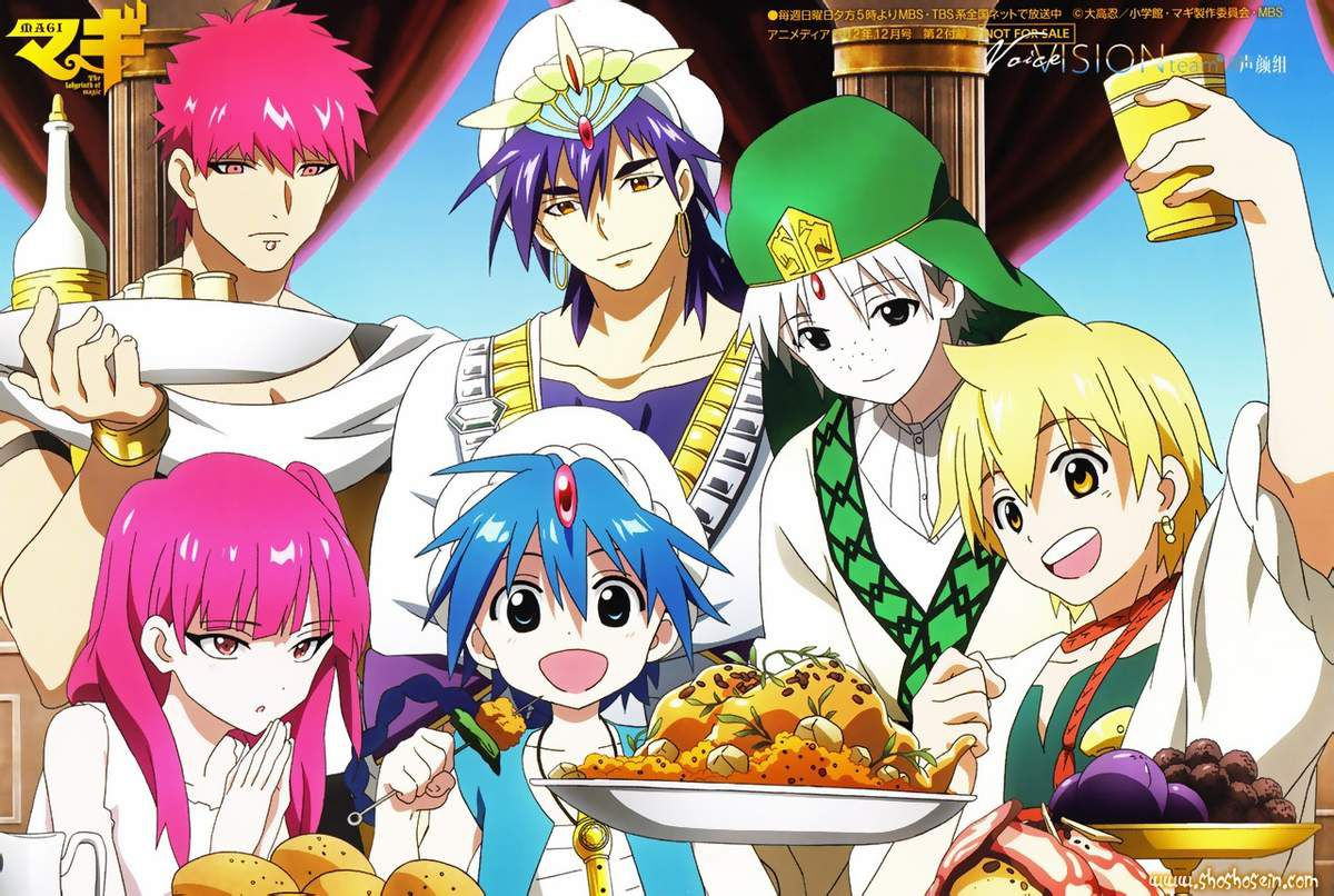 Magi, The Labyrinth of Magic © 2012 OHTAKA Shinobu / A-1 Pictures Inc.