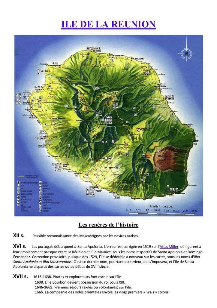 Ile de la Réunion origine et département français 974 en 6 articles. Article 1