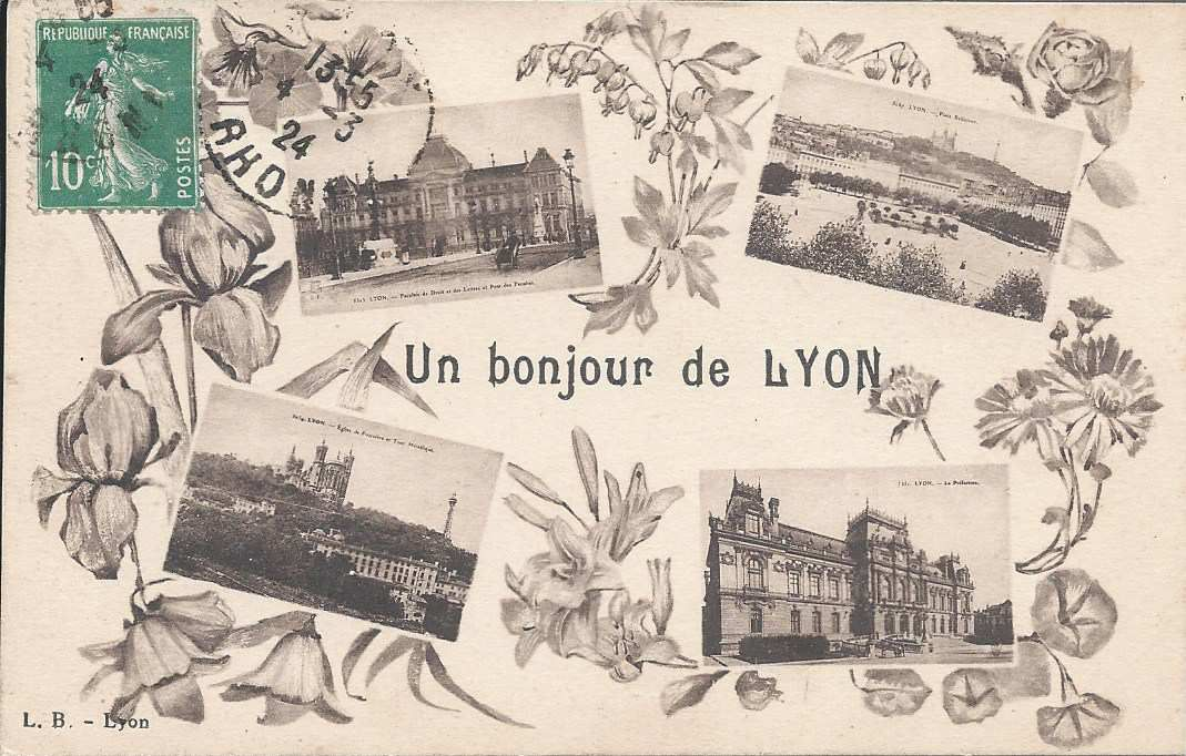 220 - UN BONJOUR DE LYON - 4.03.1924 -