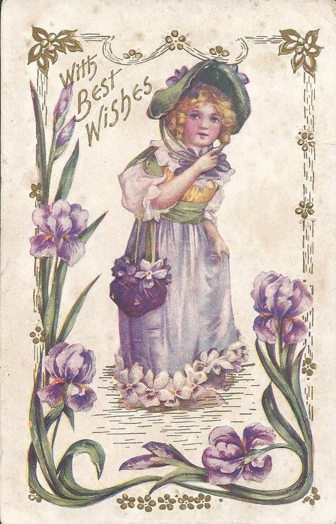 283 - WITH BEST WISHES - DE CHICAGO LE 10/02/1909 -