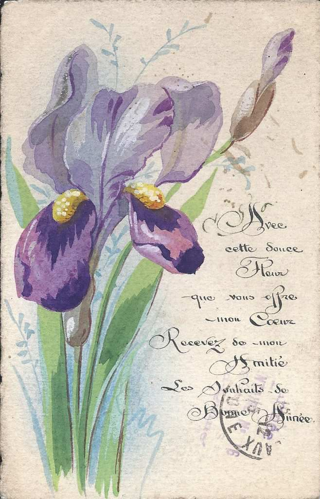 270 - AVEC CETTE DOUCE FLEUR.......... DU 31.12.1915