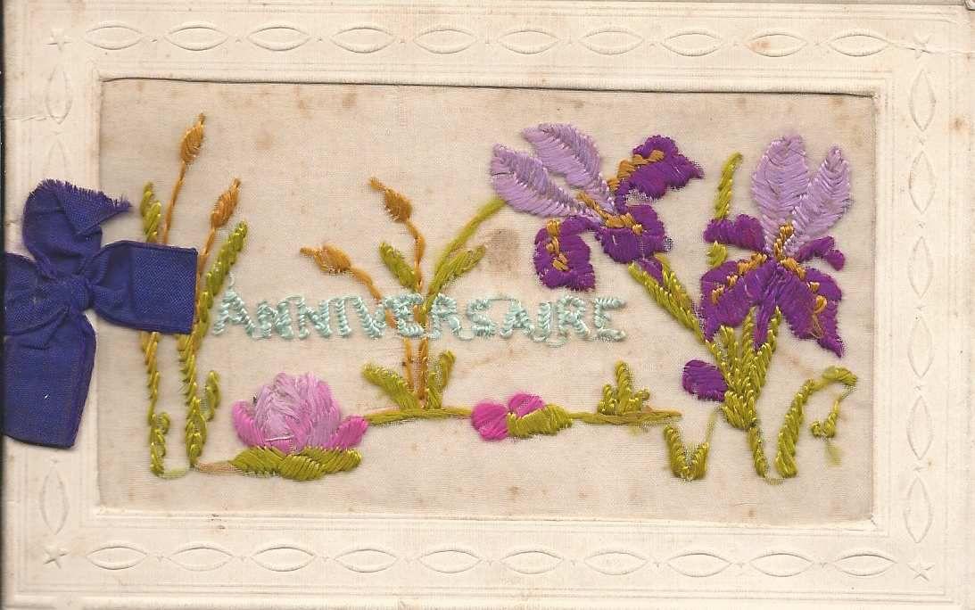 302 - ANNIVERSAIRE - 29.04.1920 - CARTE DOUBLE
