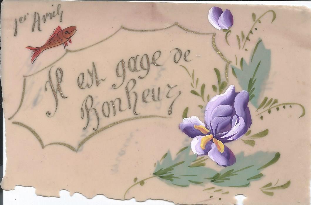 326 - 1er AVRIL - IL EST GAGE DE BONHEUR