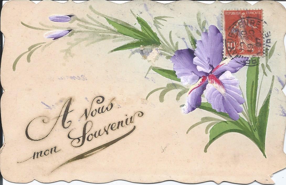 327 - A VOUS MON SOUVENIR - 19.10.1907