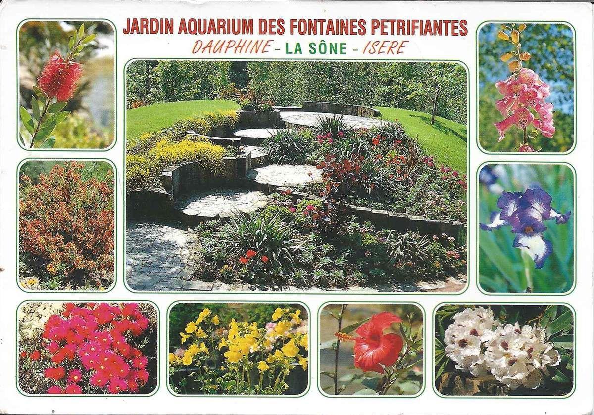 625 - jardin aquarium des fontaines pétrifiantes  38840 la Sône