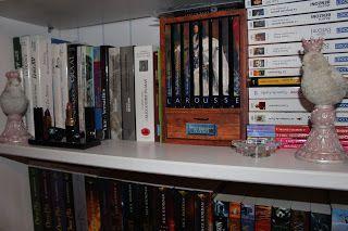 Une infime partie de ma bibliothèque...