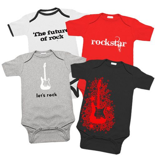 Punk Baby Clothes & Rock Babygrows With over Babygrows, punk kids clothes and T-shirts in our collection, you will always find something really cool. We also sell a large number of unique items that can't be found at other shops.